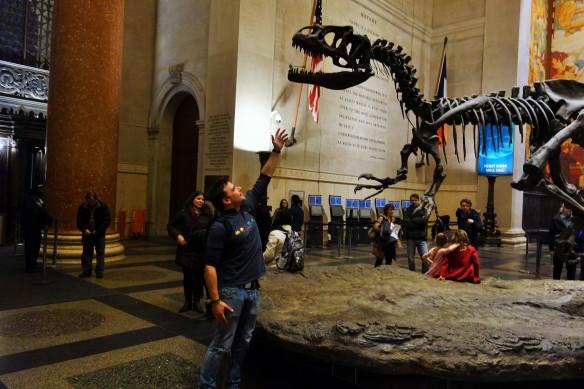 Museo de Historia Natural. Siempre tengo que estar con mis animalitos.