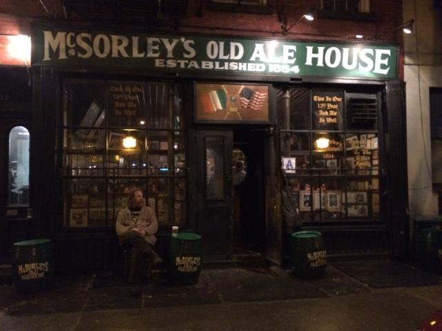 An Old Newyorker Pub