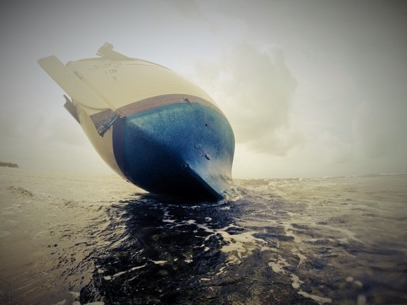 Barco varado
