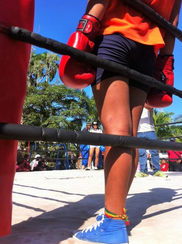Boxeo niñas