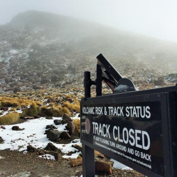 Track closed