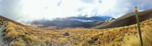 Panoramic Tongariro path